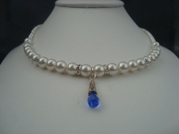 Necklace  Bella  Pearl/Pendent  Showoffjewels by showoffjewels, £149.00