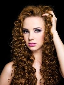 Spiral Perm Hairstyle4 Jpg 210 280 Permed Hairstyles Hair Waves Curly Hair Styles