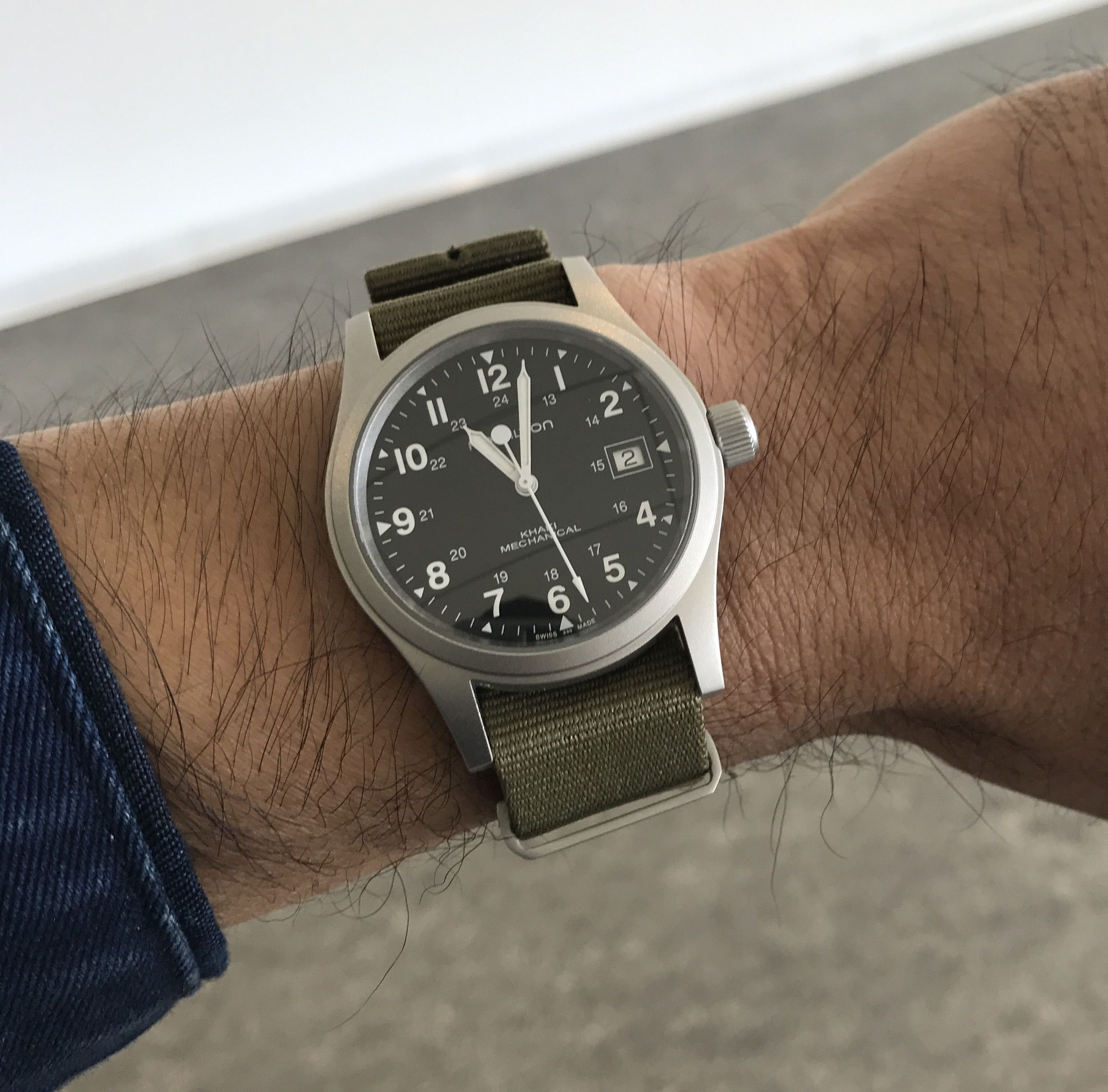 Hamilton Khaki Field Expensive Watches Watches For Men Field Watches
