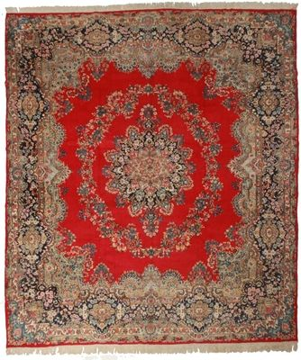 Antique Persian Kerman 12x14 Rug 31 Kerman Rugs Rugs Persian Kerman Rugs