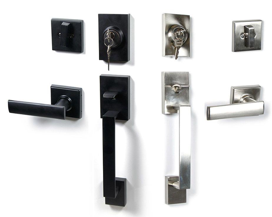 Century Single Cylinder Entry Door Handleset With Interior Lever Entry Doors Front Door Handleset Door Handles