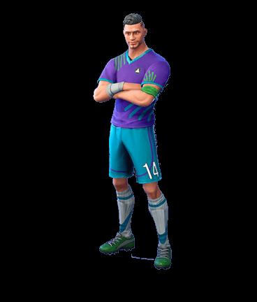 Midfield Maestro Fortnite Skin Midfield Soccer Player Soccer Players Fortnite Skin