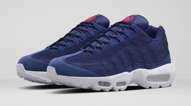 More sizes added at End Clothing for the Stussy x Nike Air Max 95 Loyal Blue ccb2da7fd0