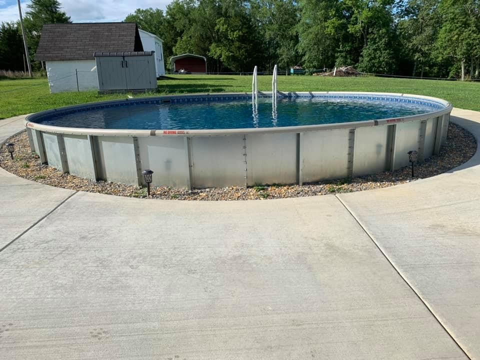 SemiIn Ground Pools, Partial In Ground, Hybrid Pool