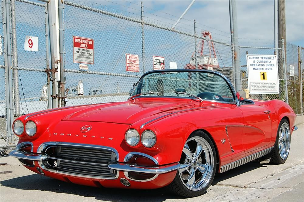1962 CHEVROLET CORVETTE CONVERTIBLE Maintenance/restoration of old/vintage vehicles: the material for new cogs/casters/gears/pads could be cast polyamide which I (Cast polyamide) can produce. My contact: tatjana.alic@windowslive.com