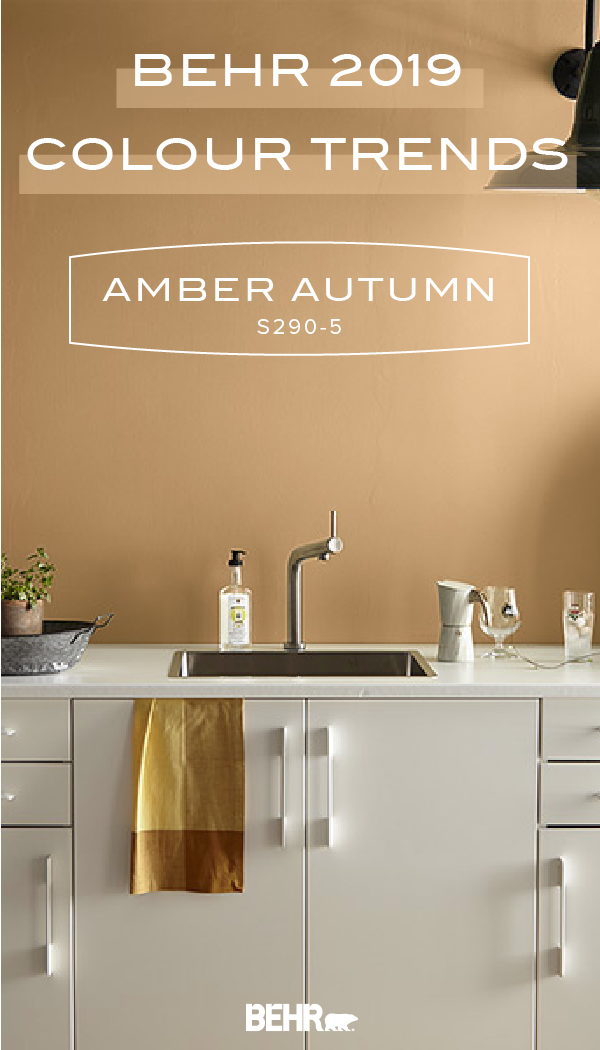 Color Of The Month Amber Autumn Colorfully Behr Beige Paint