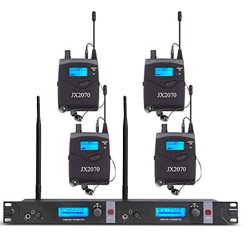 Uhf Wireless In Ear Monitor System With 4 Receivers 2 Channel 80 Set Review Studio Recording Shop Instrumentstogo Com In Ear Monitors Signal To Noise Ratio Wireless