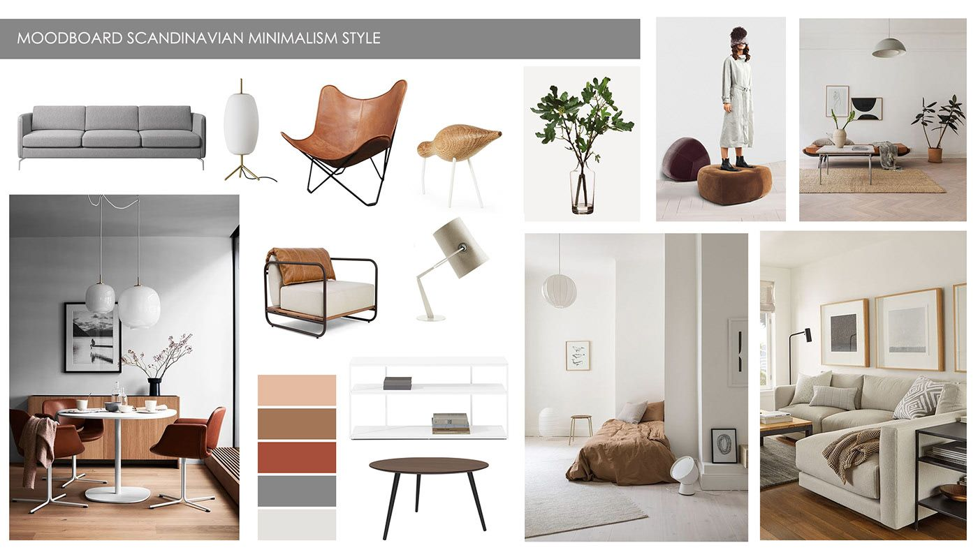 Interior Design Styles MOODBOARD 2020 on Behance