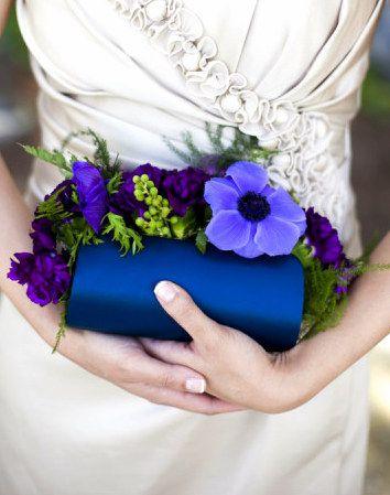 Embrayage Déclaration - Rougissant Fleur Mariée Par Vida Vida kGxbeG