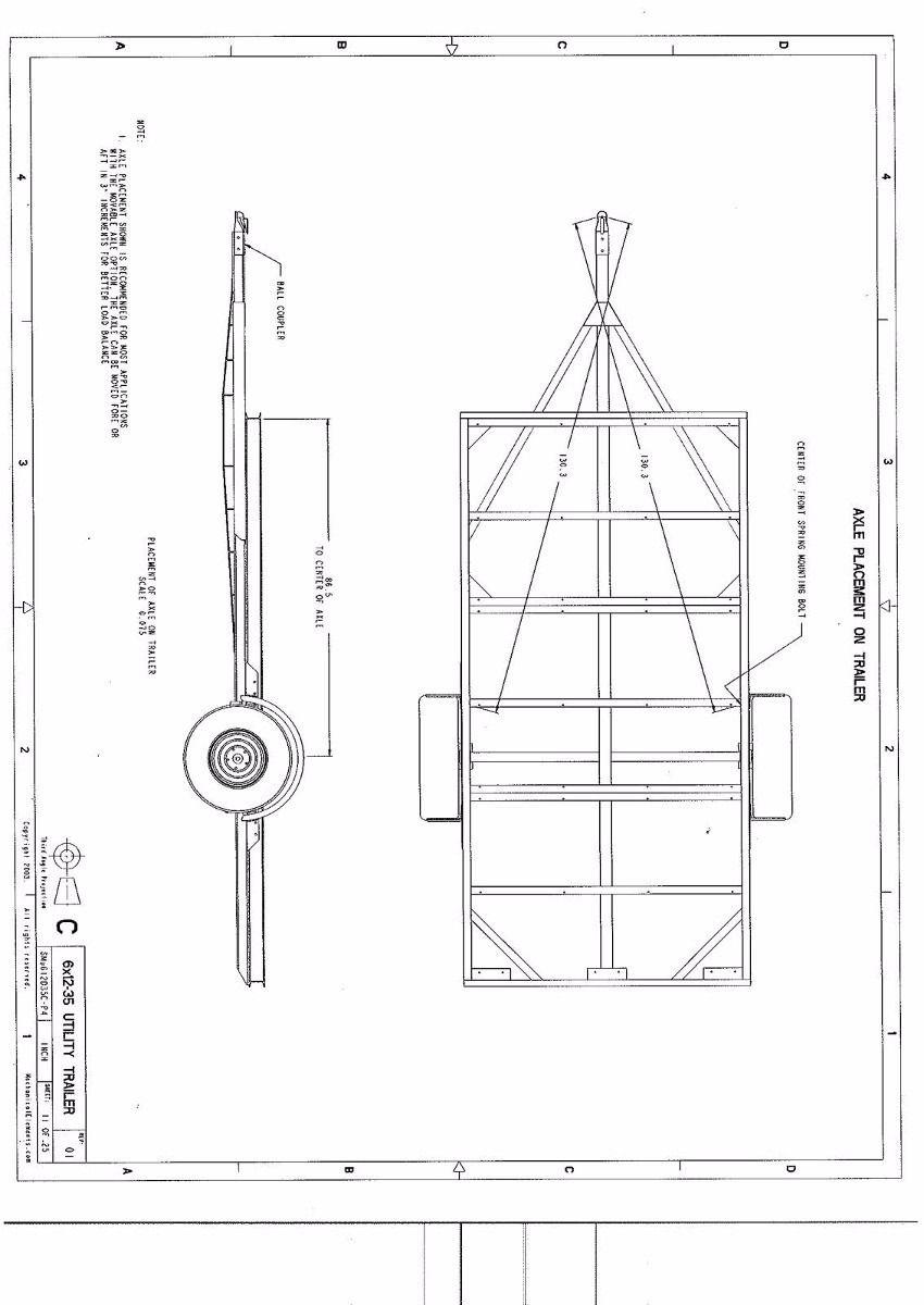 Planos Para Fabricar Trailer Acoplados O Batan Acoplado Para Uso General Remolque Para Carro Planos De Casa Rodante