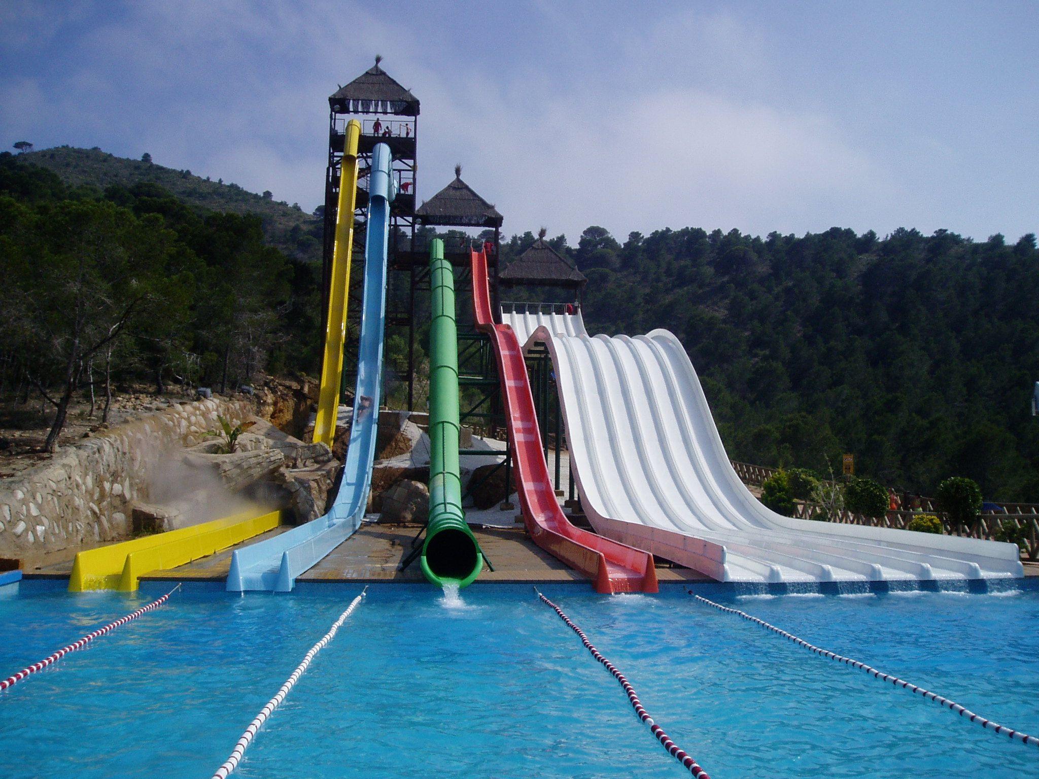 Aqualandia Water Park Benidorm Coata Blanca Spain