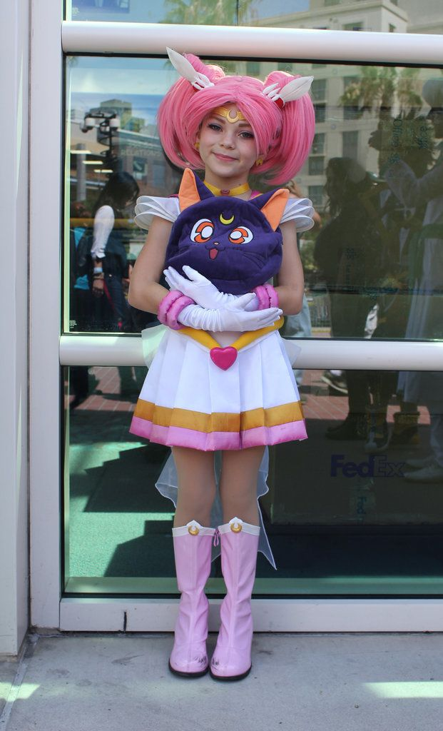 Sailor Chibi Moon Cosplay Costume  sc 1 st  Pinterest & The Absolute Best Cosplays From Comic-Con 2015 | Moon costume ...