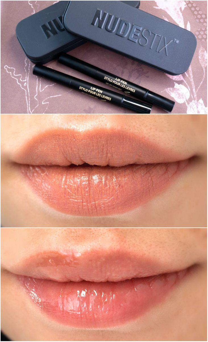 Nudestix Matte Lip Pen & Lip Pen Gloss Review and
