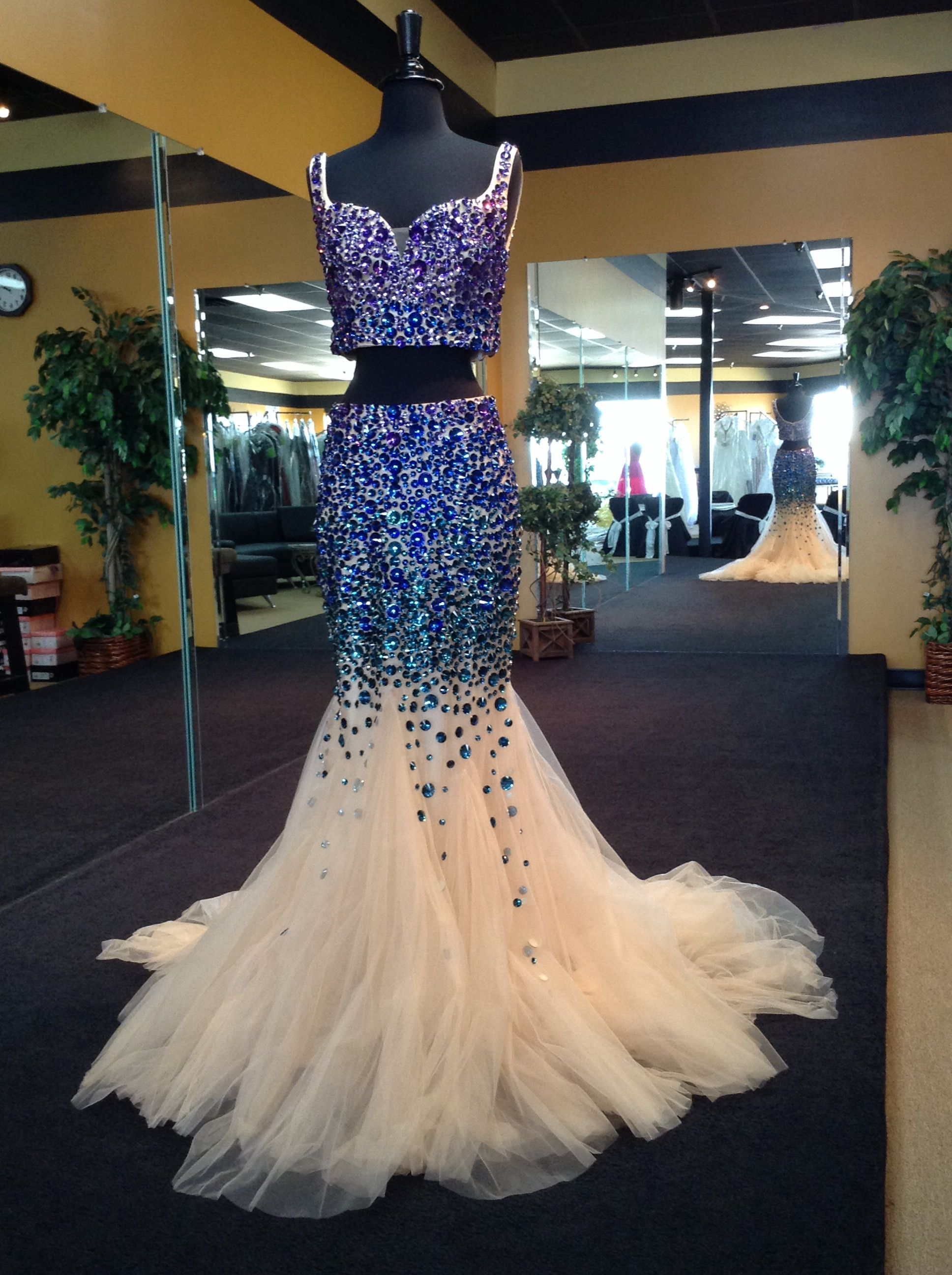 Alyce Paris Claudine Prom Dress 2417 Bare Your Midriff