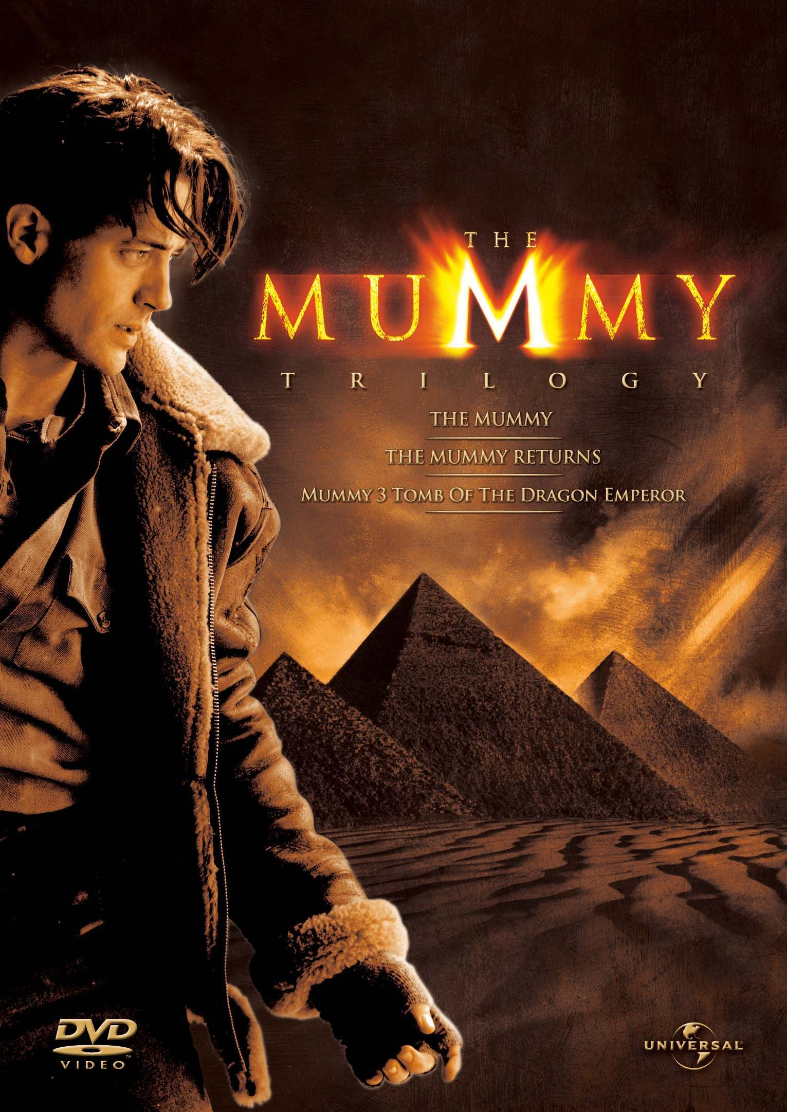 The Mummy Trilogy Blu Ray The Mummy The Mummy Returns And Tomb