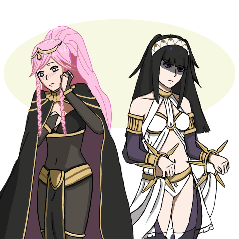 olivia tharja outfit swap fireemblemheroes fire emblem
