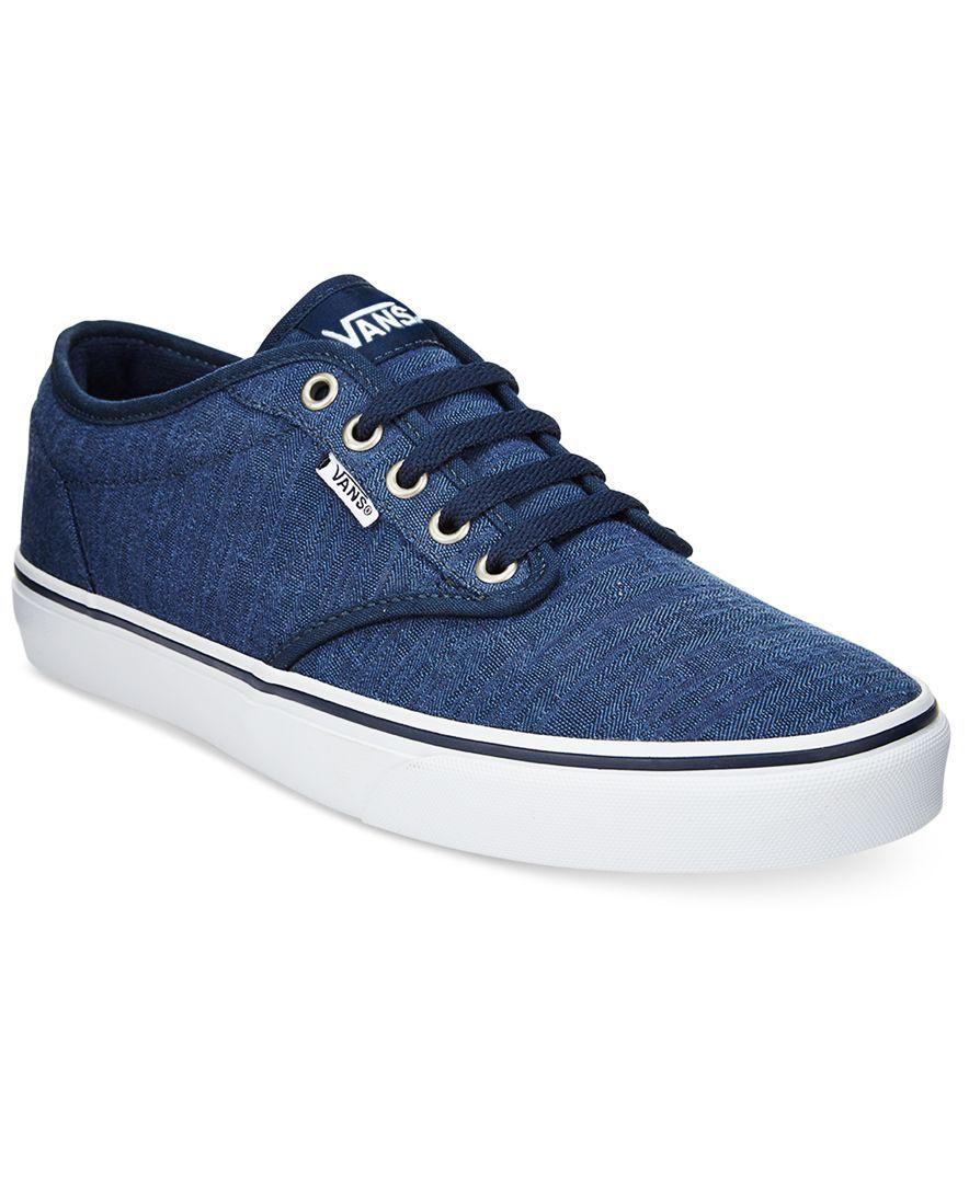 1e24ecbffa Vans Men s Atwood Low-Top Sneakers