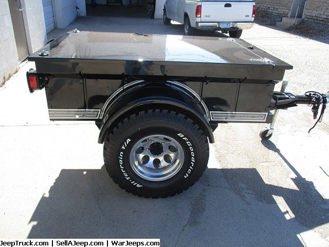 Off Road Trailers For Sale Used >> Used Jeeps And Jeep Parts For Sale 1952 Jeep Trailer Jeeps For