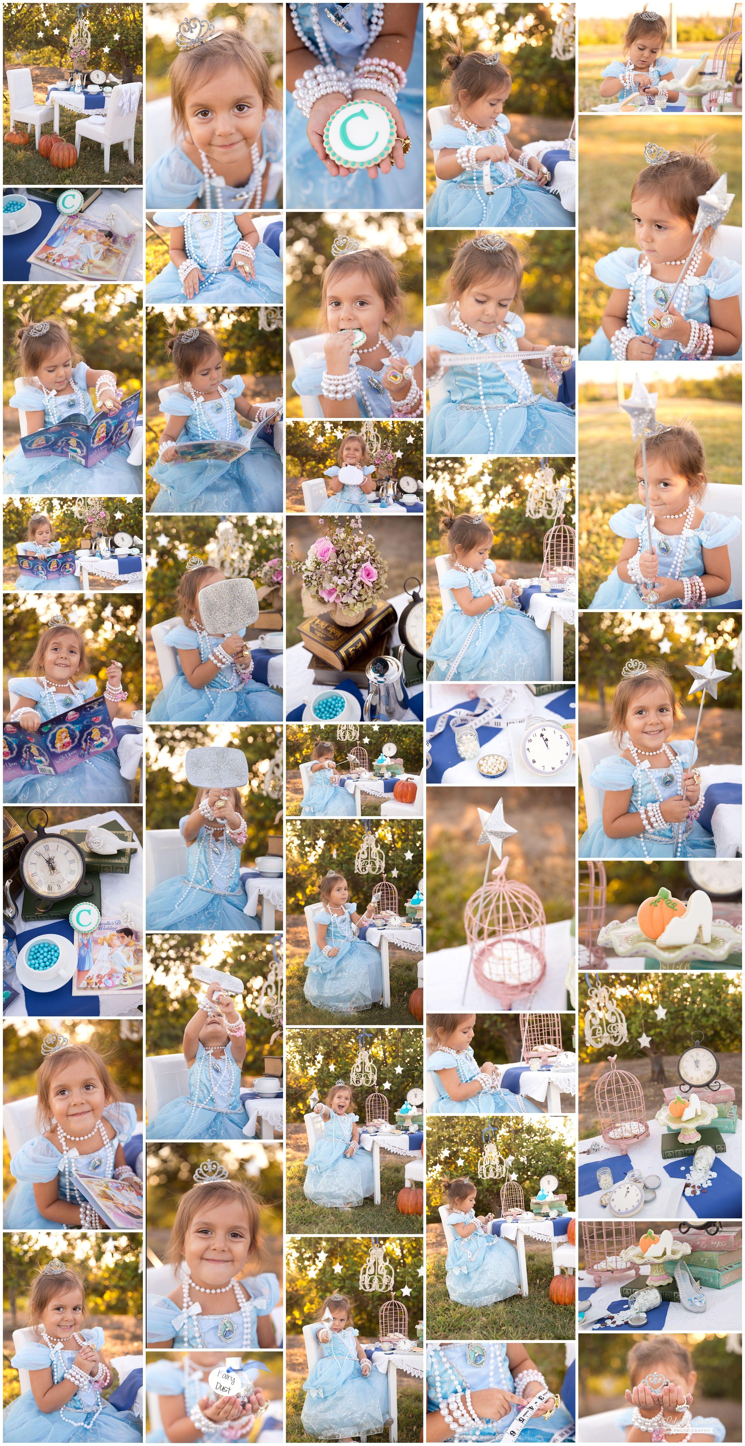 Cinderella Styled Shoot for 4Year old princess www.colorfulsnapshots.com #Colorfulsnapshotphotography #toddler #kids #cinderella #orangecountycaliforniaphotographer