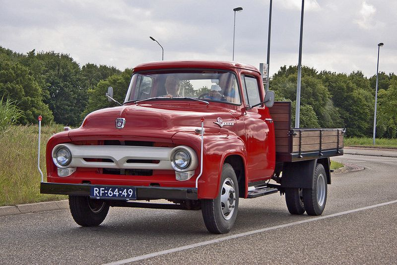 ford f 350 heavy duty pick up truck 1957 0071 ford ford trucks and cars. Black Bedroom Furniture Sets. Home Design Ideas