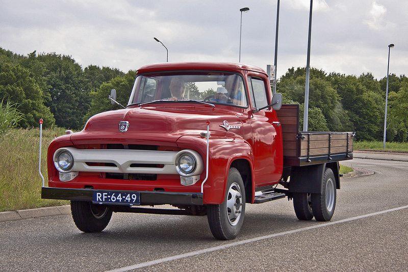 Ford F 350 Heavy Duty Pick Up Truck 1957 0071 1956 Ford Truck Trucks Ford Trucks