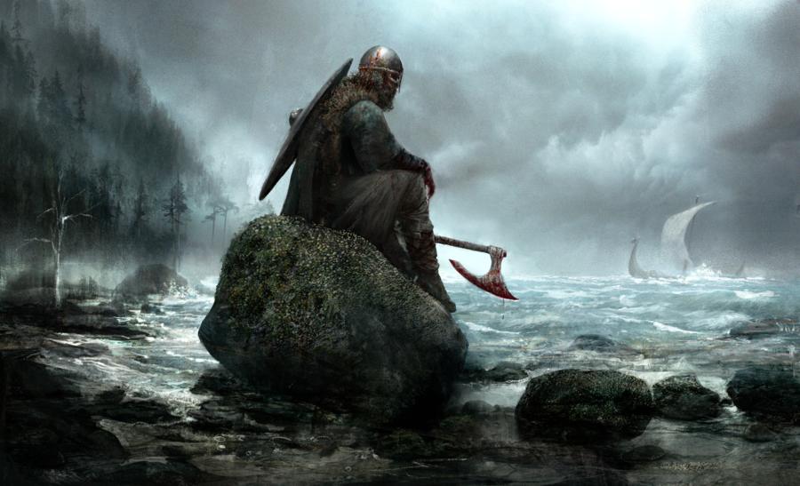 Viking Repose by Seb-M.deviantart.com on @DeviantArt
