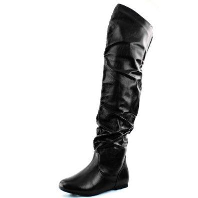 50e391582b5 Black Boots WITHOUT Heels – no heels!