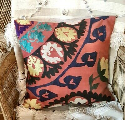Vintage Suzani Pillow Cover 20.08