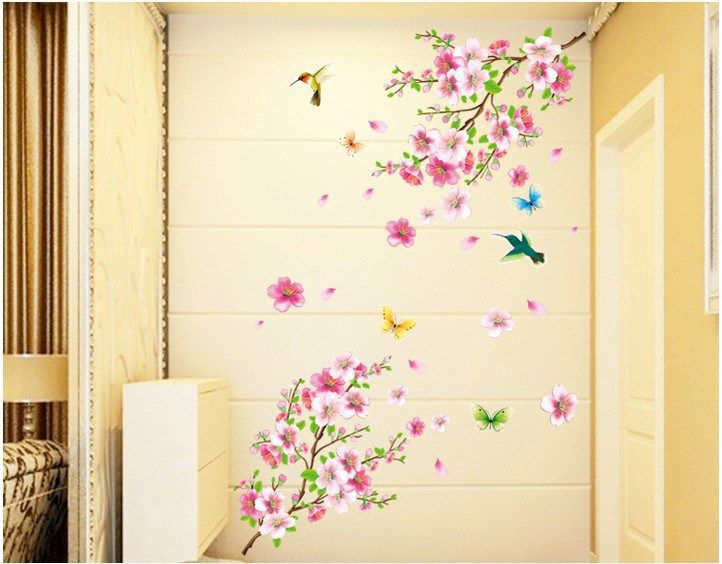 butterfly removable home living wall stickers decor wall stickers ...