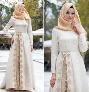 Model Baju Gamis Lebaran Elegan Model Pakaian Islami Model Pakaian Model Pakaian Hijab