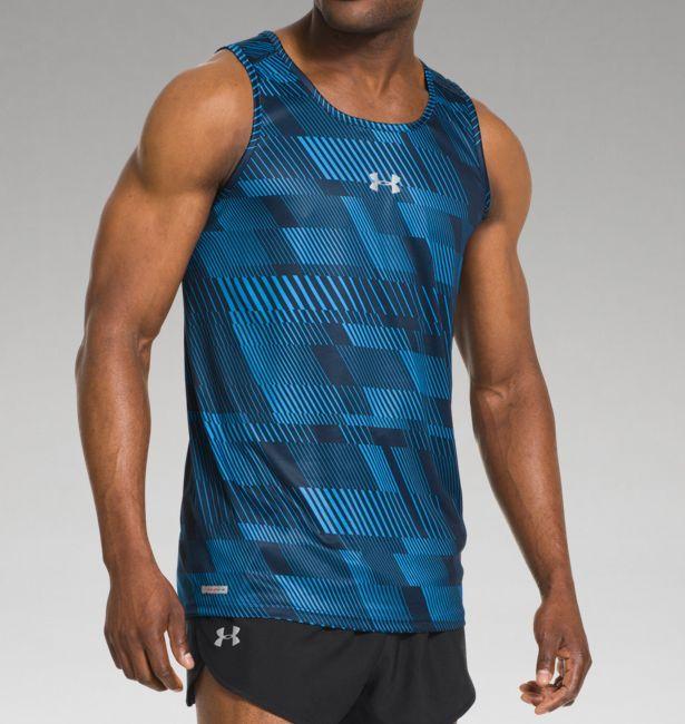 b2cccdaf Men's UA HeatGear® Flyweight Run Singlet | Under Armour US ...