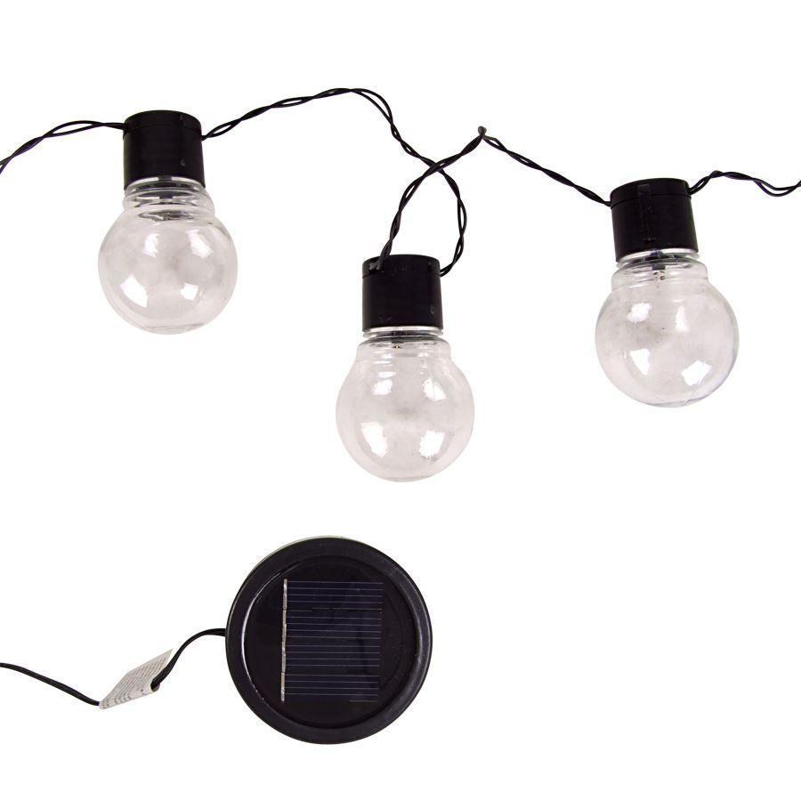 lichterkette gl hbirne solar 10 led warmwei au en gl hlampe kugeln garten in garten. Black Bedroom Furniture Sets. Home Design Ideas