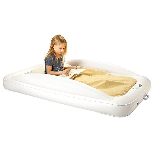 sale retailer 0e8cd 79ef8 hiccapop Inflatable Toddler Travel Bed with Safety Bumpers ...