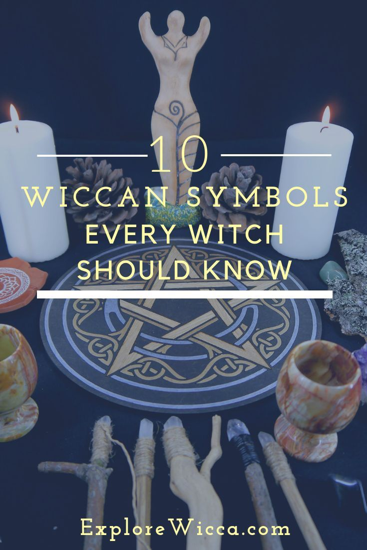 Discover these uniquely #wiccan symbols and why they're so important