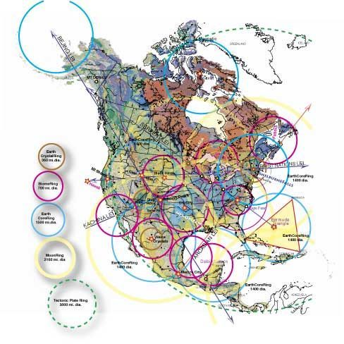 Magnetic Ley Lines In America New Giagraphy High Resolution Map - Magnetic map of us