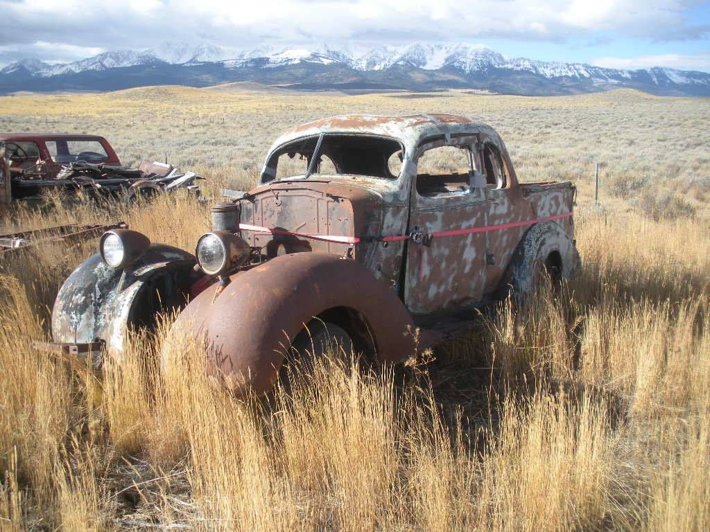 1936 Hudson Terraplane UTE | Barn Finds,Junk Yard Cars etc ...