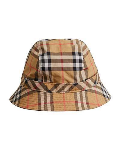 60c109e60b6 Burberry Men s Vintage Check Bucket Hat