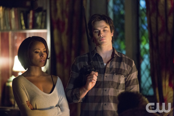 vampire diaries season 7 spoilers bonnie and damon will not get
