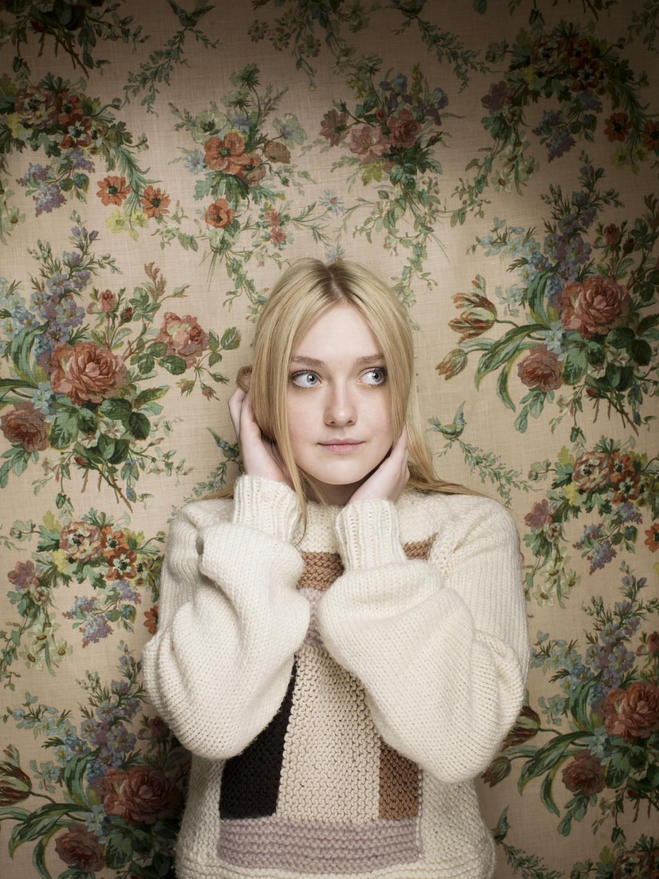 Dakota Fanning photographed by Victoria Will