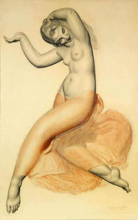 jean dupas la danse this stunning and sensual drawing by famed