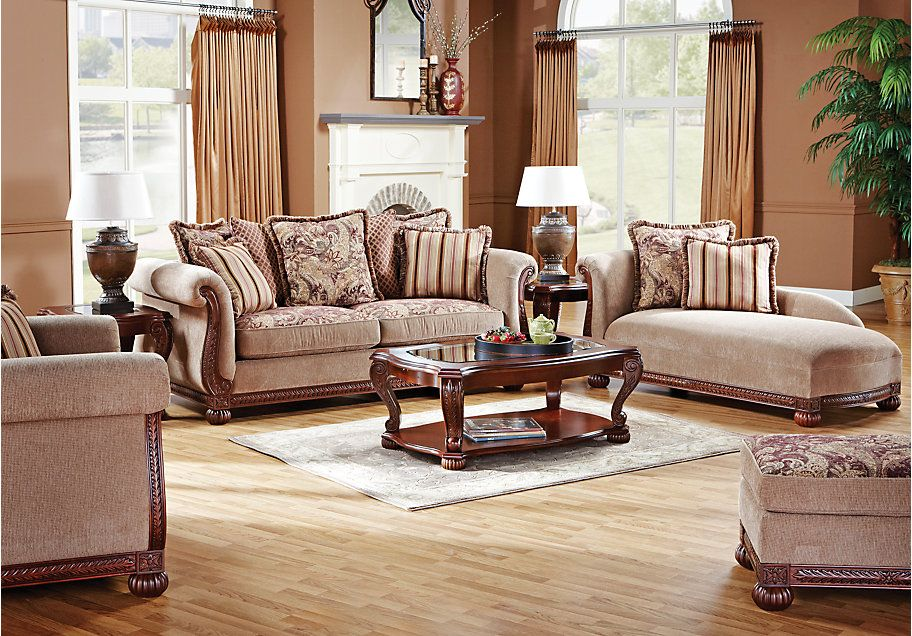 The Living Room Furniture style I like. New Home Ideas