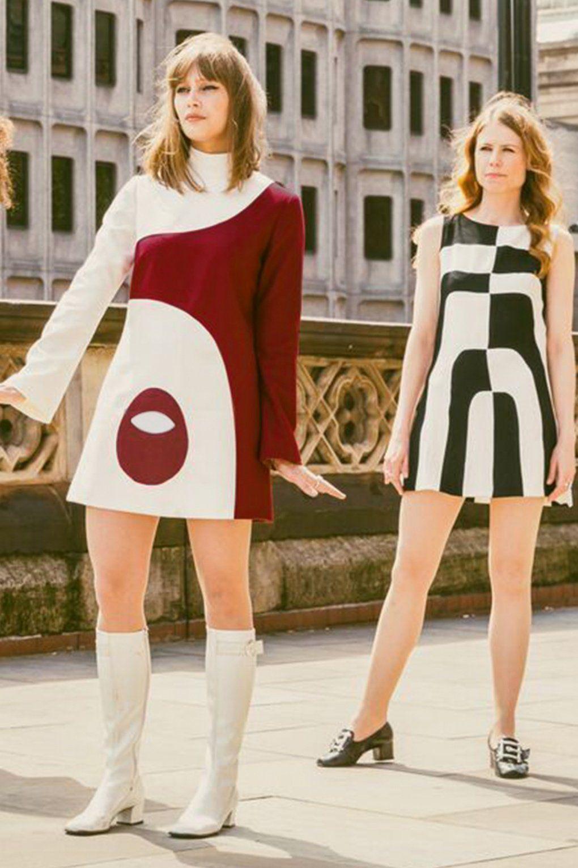 60s Dresses | 1960s Dresses Mod, Mini, Hippie