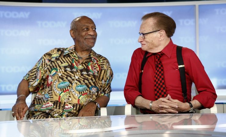 Bill Cosby And Larry King   GRAMMY.com