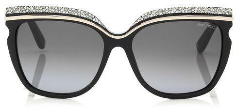 Sophia Crystal Adorned Framed Sunglasses