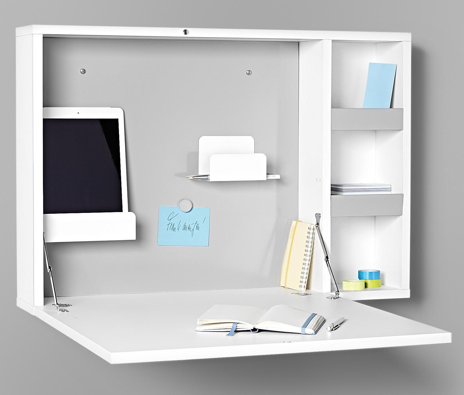 Dieses Mini Office Zum Aufklappen Ist Die Perfekte Alternative Für Alle,  Die Bewusst Auf Einen Schreibtisch Verzichten Möchten. Das Mini Office  Lässt Sich ...
