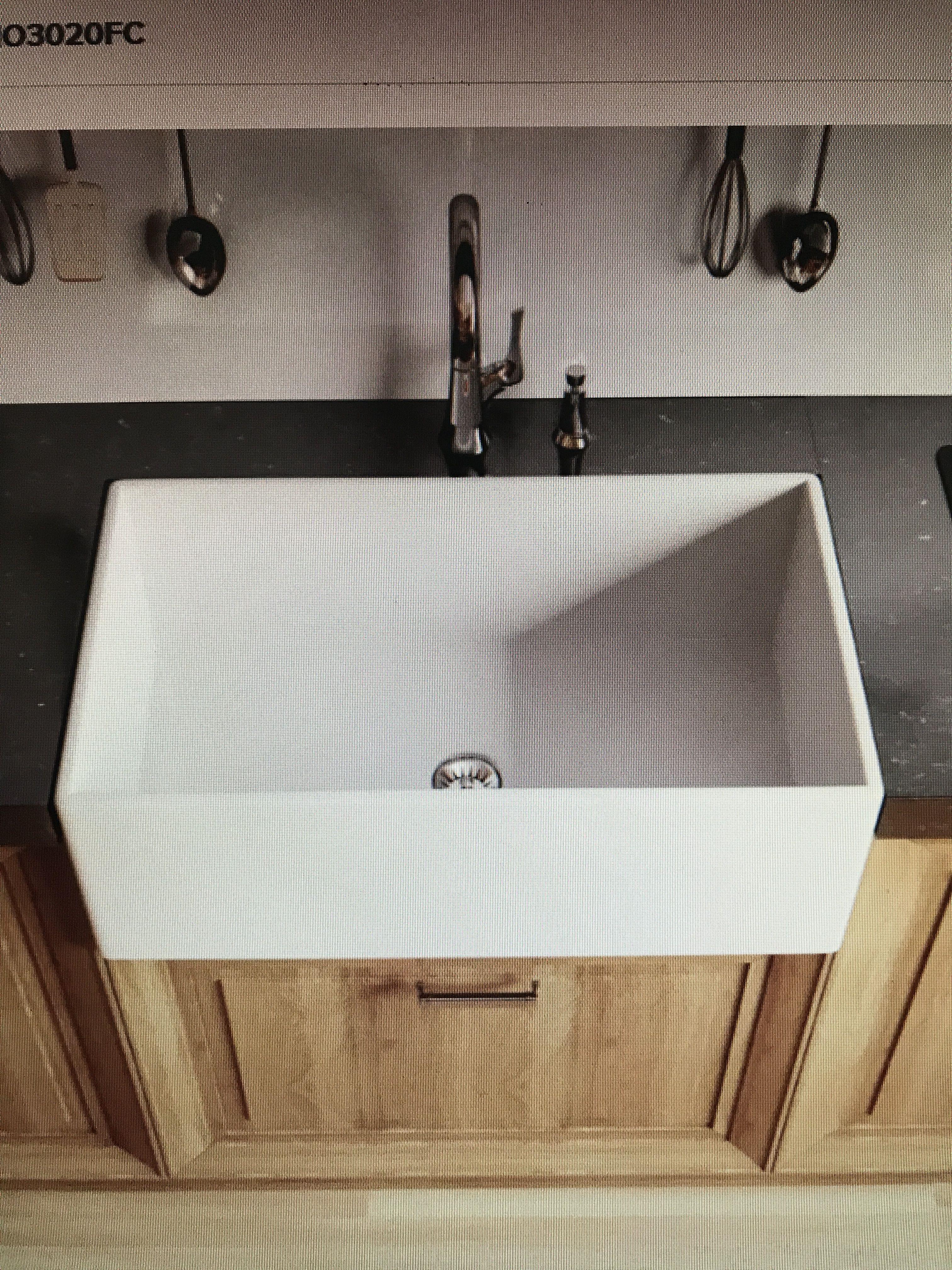 "Miseno 30"" single basin fireclay farmhouse kitchen sink ️"