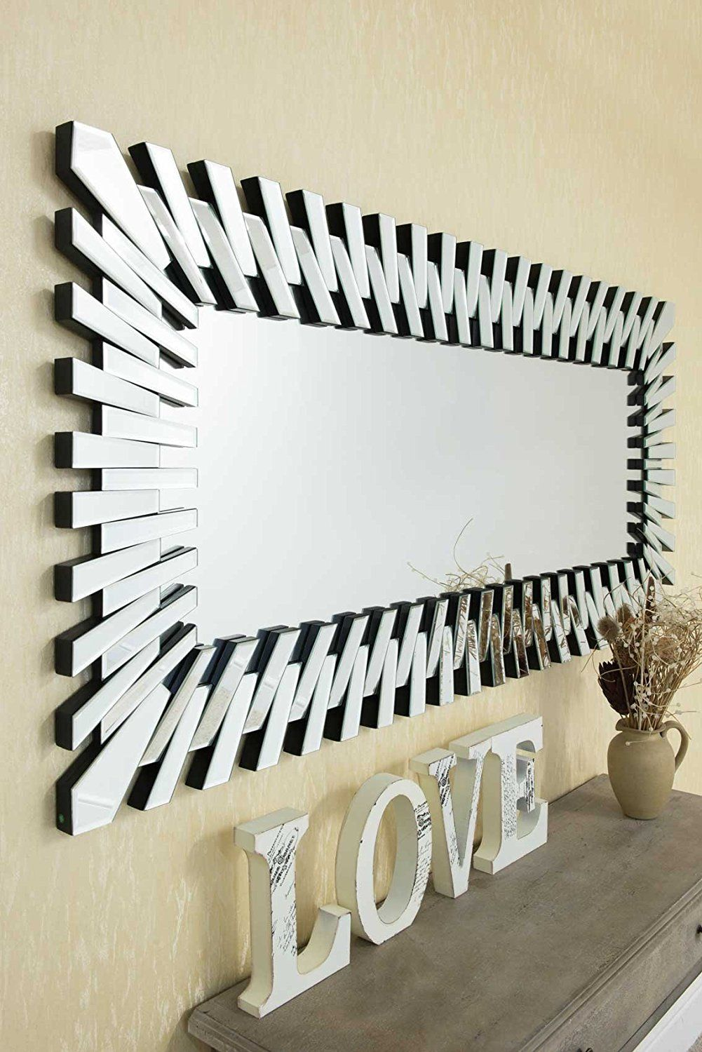Overstock Com Online Shopping Bedding Furniture Electronics Jewelry Clothing More In 2021 Brass Mirror Mirror Wall Decor Hanging Mirror