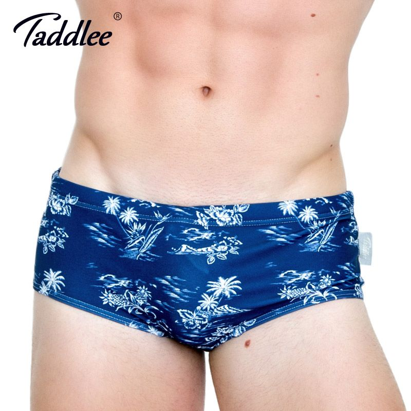 10ee50c218 Taddlee Brand Men SwimSwimSuits Swimwear Man Swimming Bikini Briefs Male  Men's Swim Boxer Trunks Shorts Board
