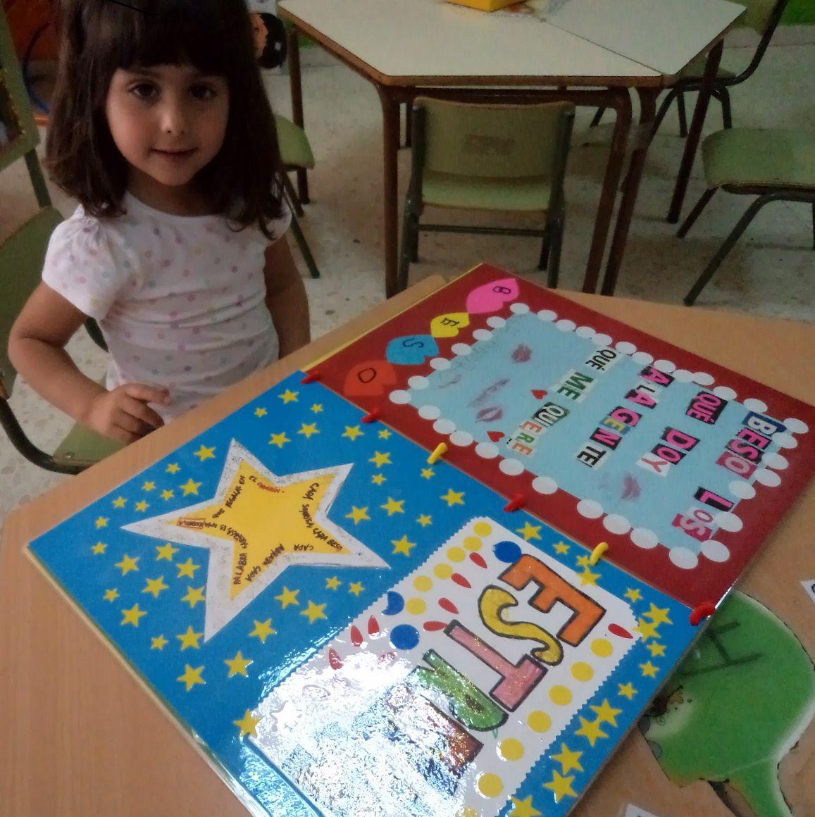 Mis cositas de infantil el libro de las palabras bonitas - Ideas libro viajero infantil ...
