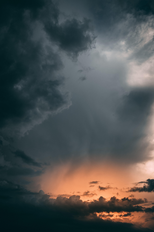 Sunset Clouds Cloudy Sky Night Dark 5k Wallpaper Hdwallpaper Desktop